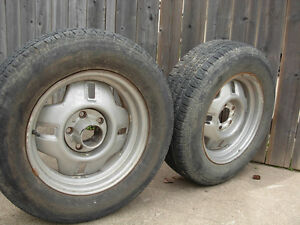205/70R15 Tires and Rims