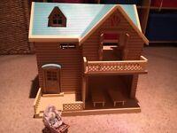 Sylvanian families toys, various items
