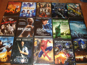 15 Sci-Fi and Fantasy DVDs for $10.
