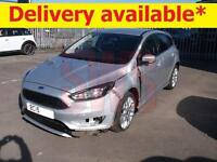 2015 Ford Focus Zetec S 1.5 DAMAGED REPAIRABLE SALVAGE