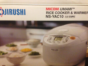 ZOJIRUSHI RICE COOKER WARMER 5.5 CUPS-Japanese Model REDUCED