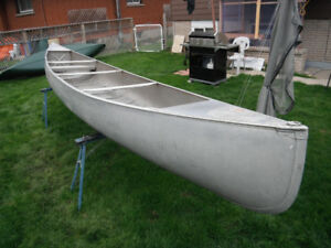 20ft Grumman Expedition Guide aluminum canoe