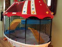 Circus fun hamster house