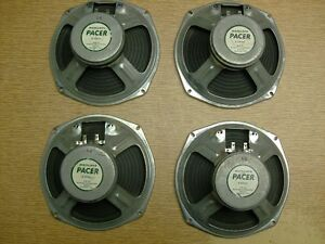4 Marsland 8ohm, 8in speakers for sale or trade