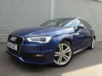 GOOD AND BAD CREDIT CAR FINANCE AVAILABLE AUDI A3 1.4 S LINE AUTO