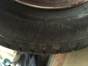 4 winter tires for sale Strathcona County Edmonton Area image 2