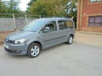 VOLKSWAGEN CADDY MAXI C20 LIFE TDI BLUEMOTION TECHNOLOGY 2011