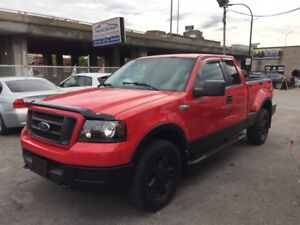 """Ford F-150 Supercab Flareside 145"""" 4WD 2005"""