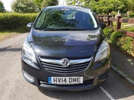 Vauxhall Meriva 1.4 Exclusiv Ac Mpv