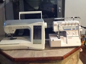 Sewing machine combo Moose Jaw Regina Area image 1