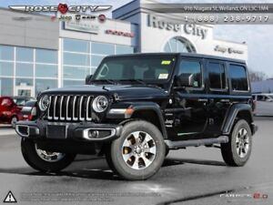 2018 Jeep Wrangler Unlimited Sahara 4x4  - Navigation