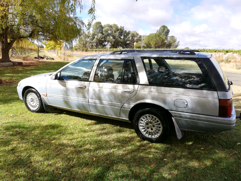 Ford Fairmont Station Wagon 172000 Km Cars Vans Utes