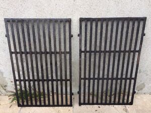 Weber cast iron enamel grates for 300 series BBQ