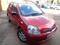 2002 Toyota Yaris 1.0 VVTi Colour Collection