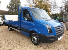 2010 Volkswagen Crafter CR50 - DROPSIDE FLATBED - TAIL LIFT - 5 TON