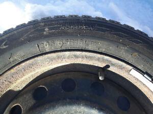 4 Winter tires on rims