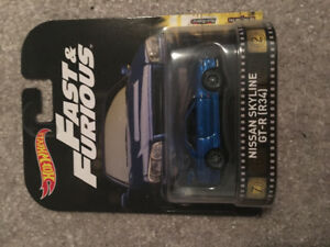 Hot wheels fast and furious Nissan Skyline GTR R34 movie special