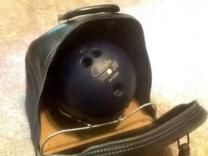 Bowling ball with bag