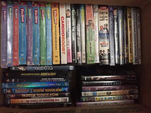 300 DVD's & 100 VHS