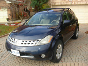 2007 NISSAN MURANO  TRANSMISSION REBUILTED  !