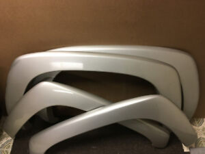 """Set of OE Gmc Chevrolet """"Smooth"""" Fender Flares Exc. Cond! $175"""