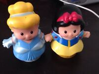 Little people -Cinderella&snow white