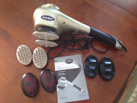 iComfort Heating and Vibrating Electrical Massager