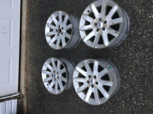 """18"""" Ford Flex Alloy Rims & Sensors"""