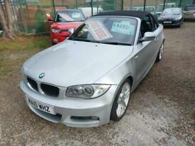 image for 2010 BMW 120D M SPORT CONVERTIBLE , 1995CC , MOT 14/04/22  ,