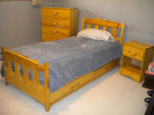 Captains Bed,Dresser,Night Stand,Desk &Chair
