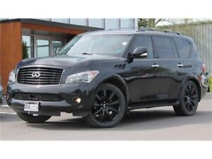 2014 Infiniti QX80 TECH PKG | HEATED/COOLED LEATHER | DVD