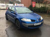 Renault Megane Expression dCi 5dr DIESEL MANUAL 07/57 £30 RD TAX 60+MPG BARGAIN