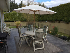 7 PIECE PATIO SET - GET READY FOR SUMMER!