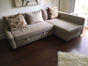 Mint condition ikea sofabed sectional