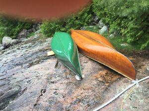 Chestnut Cedar Strip Canoe