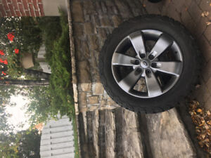 F150 ( 2019 a 2009 ) HIVER LT 275/55R20  + 4 MAGS FORD 20´´
