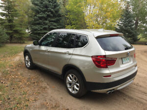 2014 BMW X3 SUV still on warranty