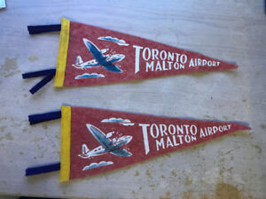 Antique Pennants - Thickson & Rossland, Whitby