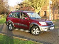 Toyota RAV4 2.0 D-4D XT3**DIESEL 4X4**1 OWNER**FSH**SIDE STEPS**NEW TURBO**