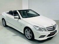 MERCEDES-BENZ E-CLASS CONVERTIBLE E220 CDI SPORT AUTO WHITE 2011 R207 W212 E250