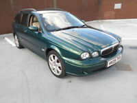 (05) 2005 Jaguar X-TYPE 2.0 Diesel Estate Sport Full Leather Trim F/S/History