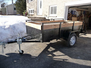 Utility trailer  4 X 8   SOLD !!