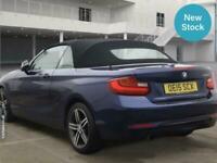 2015 BMW 2 Series 218i Sport 2dr CONVERTIBLE Petrol Manual