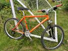 "Marin Bolinas Ridge Mountain bike 17"" frame with Marzocchi Bomber susp"