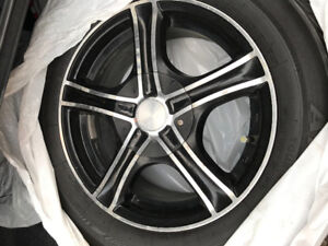 Wheels (rims) for Honda Civic snow tire package.