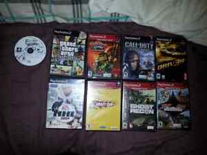 PS2 slim.  Comes with games. Cornwall Ontario image 5