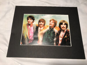 BEATLES painted picture $5