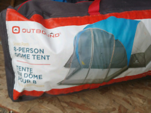 8 person tent - used once