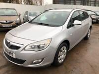 Vauxhall/Opel Astra 1.7CDTi 16v ( 110ps ) 2011MY ES