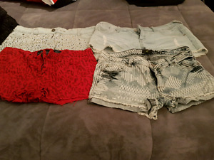 4 pairs of Summer Shorts size 13
